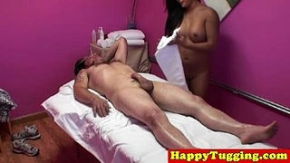 Real-thai-masseuse-spoiling-her-customer