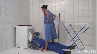 MMV-FILMS-German-Mom-draining-the-plumber