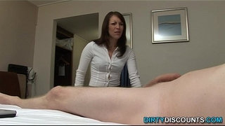 Dick-sucking-domina-sperm