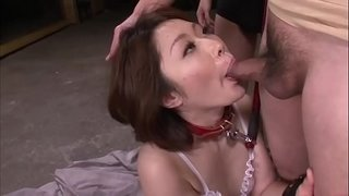 Mature-asian-blows-three-studs-in-a-foursome-on-her-knees