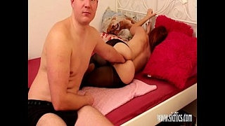 Fisting-and-fucking-his-girlfriends-ass-with-a-huge-dildo