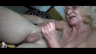Grey-old-Granny-likes-young-man