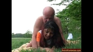 Old-Man-Fucks-Granddaughter-Outdoors