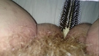 Fucking-my-wet-hairy-pussy-and-ass