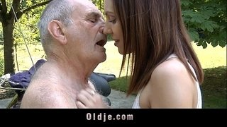 Horny-teeny-rides-a-70-years-old-man
