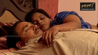 Indian-House-wife-sharing-bed-with-her-Husband-friend-when-his-husband-deeply-sleeping