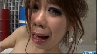 Young Sakura-Aragaki-fucked-hard-and-made-to-swallow