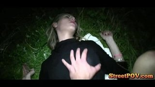 Young-blonde-student-fucked-hard-at-night-outdoors
