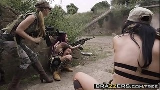 Brazzers---Pornstars-Like-it-Big---Cock-Of-Duty-A-XXX-Parody-scene-starring-Jasmine-Jae-Monique-Alex
