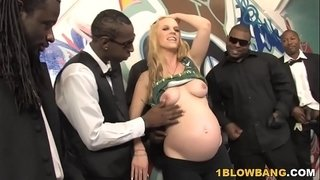 Pregnant-Hydii-May-BBC-Interracial-Gangbang