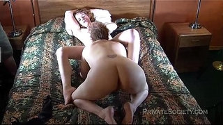 Aunt-Kathy-Tries-Pussy