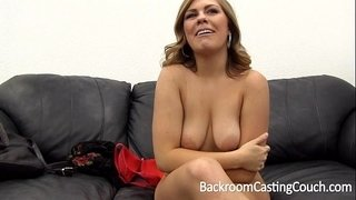 Tinder-MILF-Slut-Assfuck-Painal-&-Creampie-on-Backroom-Casting-Couch