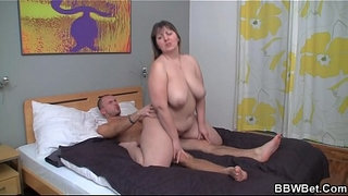Busty-fat-ass-woman-loves-riding-his-meat