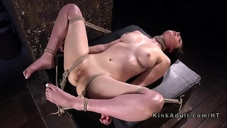 Busty-slave-anal-and-pussy-punished