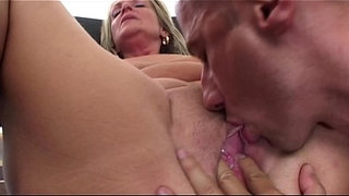 Napping-Mature-In-Red-Stockings-Fucked-By-Stepson