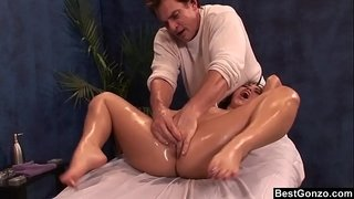 BestGonzo---Teen-is-slippery-wet-after-erotic-oil-massage.