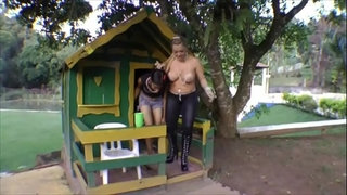 Domme-punishes-slave-ponygirl-1