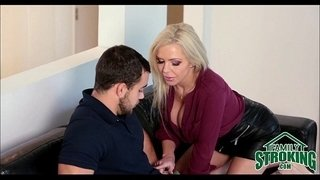 Horny-Mom-Seduces-Her-Step-Son---FamilyStroking.com