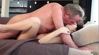 Old-and-Young-Porn---Sweet-innocent-girlfriend-gets-fucked-by-grandpa