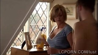 Mature-maid-rides-a-cock-in-reverse-cowgirl.