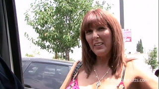Horny-mom-picked-up-at-the-parking-lot-and-fucked-hard