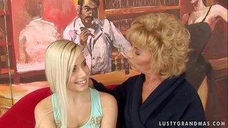 Granny-Margarette-Having-Some-Lesbian-Sex-with-a-younger-girl