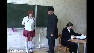 Redhead-russian-schoolgirls-gets-whipped-by-the-teacher.-Bdsmmasters.com