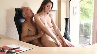 Teen-pussy-is-better-than-Viagra-pill-and-makes-older-boss-horny-at-the-office