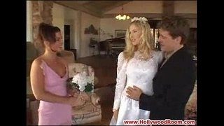 Bride-and-Bridesmaids'-Anal-Afternoon