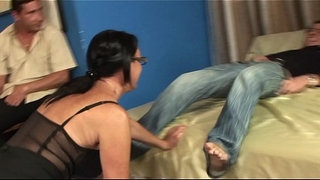 Milf-in-gang-bang,-anal,-double-penetration-and-cumshot-in-the-face!!!