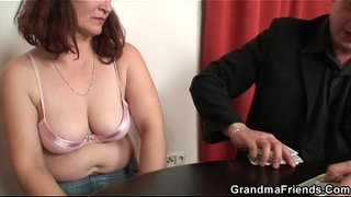 Granny-loses-in-strip-poker