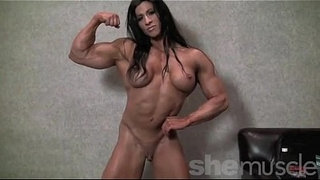 Angela-Salvagno-Naked-Female-Bodybuilder-Strip