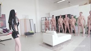 Incredible-Video!!-Super-Model-Crystal-Greenvelle-7on1-Double-Anal-GangBang