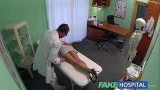 FakeHospital-Sales-rep-caught-on-camera-using-pussy