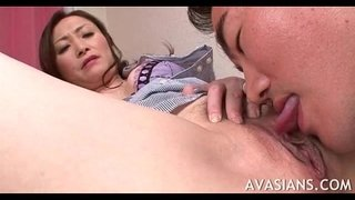 Mature-asian-teacher-gets-her-hairy-pussy-lick