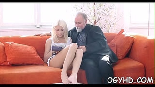 Crazy-old-lad-licks-young-pussy