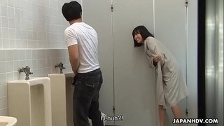 Brainwashed-Asian-nympho-hunts-for-cocks-in-the-public-toilet